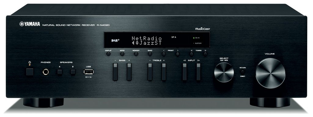Stereolife yamaha musiccast r n402d for Yamaha musiccast spotify