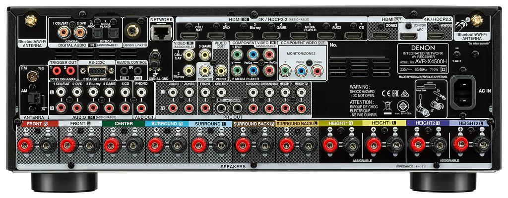 Denon AVR-X4500H i AVR-X3500H
